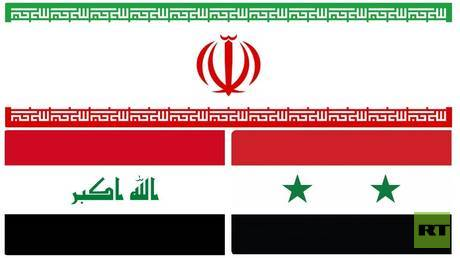 a large project linking iran and syria across iraqi territory