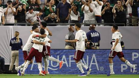 watch .. mexico end haiti's adventure with a killer goal and reach the gold cup final