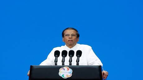 President of Sri Lanka refuses to grant US troops free access to the country's ports