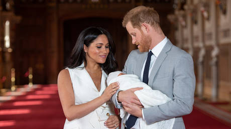 Archie, the son of Prince Harry and his wife Megan