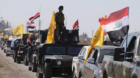 abdul mahdi begins to integrate the popular crowd within the iraqi military