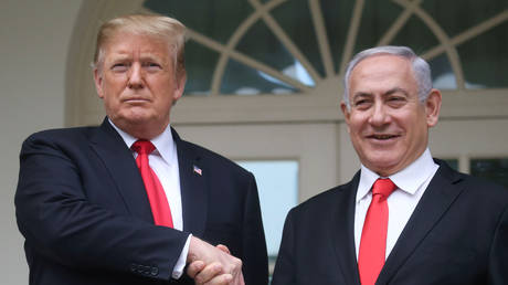 """trump looking in contact with netanyahu ways to """"deter iran's malicious actions"""""""