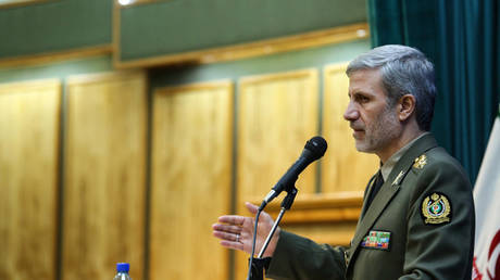 iranian defense minister commenting on netanyahu's threats: we will respond firmly to anyone who violates iranian sovereignty