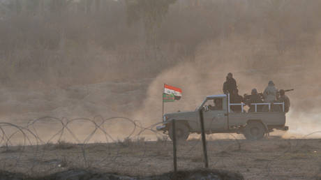 a security operation northeast of the iraqi province of diyala