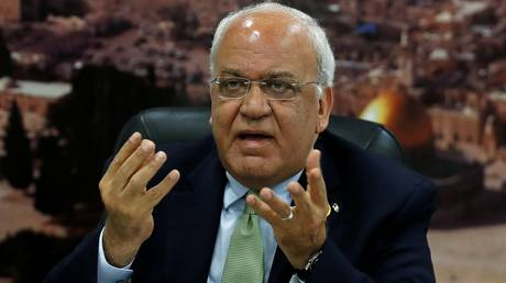 erekat: it is enough to present jerusalem and palestine as sacrifices in the temples of political malaise