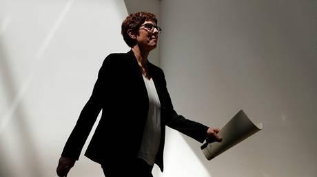 Merkel's party leader has succeeded von der Lin as defense minister