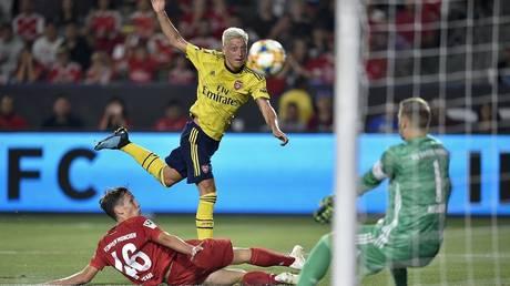 Video: Arsenal beat Bayern Munich in the International Cup of Champions