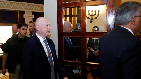 """Trump's envoy: Israel is a """"victim of the conflict"""" with the Palestinians"""