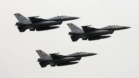Turkey is carrying out a large-scale air operation in northern Iraq