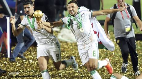 The Algerian national team is closing the doors to Al Ahli of Egypt