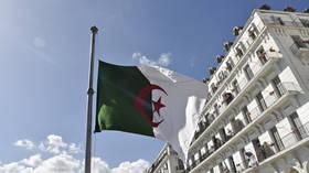 الجزائر تشجب التدخل العسكري لـ
