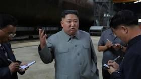 زعيم كوريا الشمالية يتفقد غواصة جديدة وترامب يكشف عن مراسلات إيجابية معه 5d36832d95a59716758b45d8