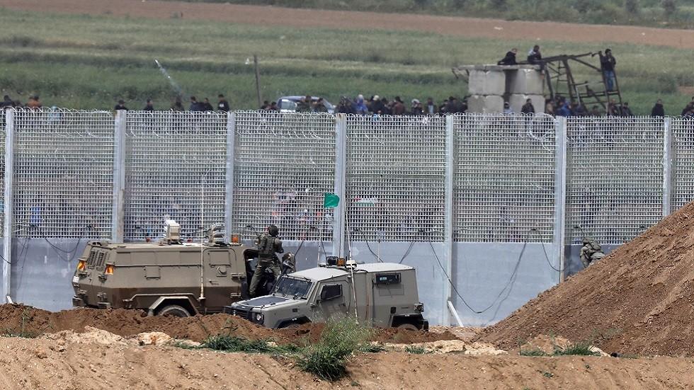 الجيش الإسرائيلي يقتل فلسطينيا جرح جنودا على حدود غزة