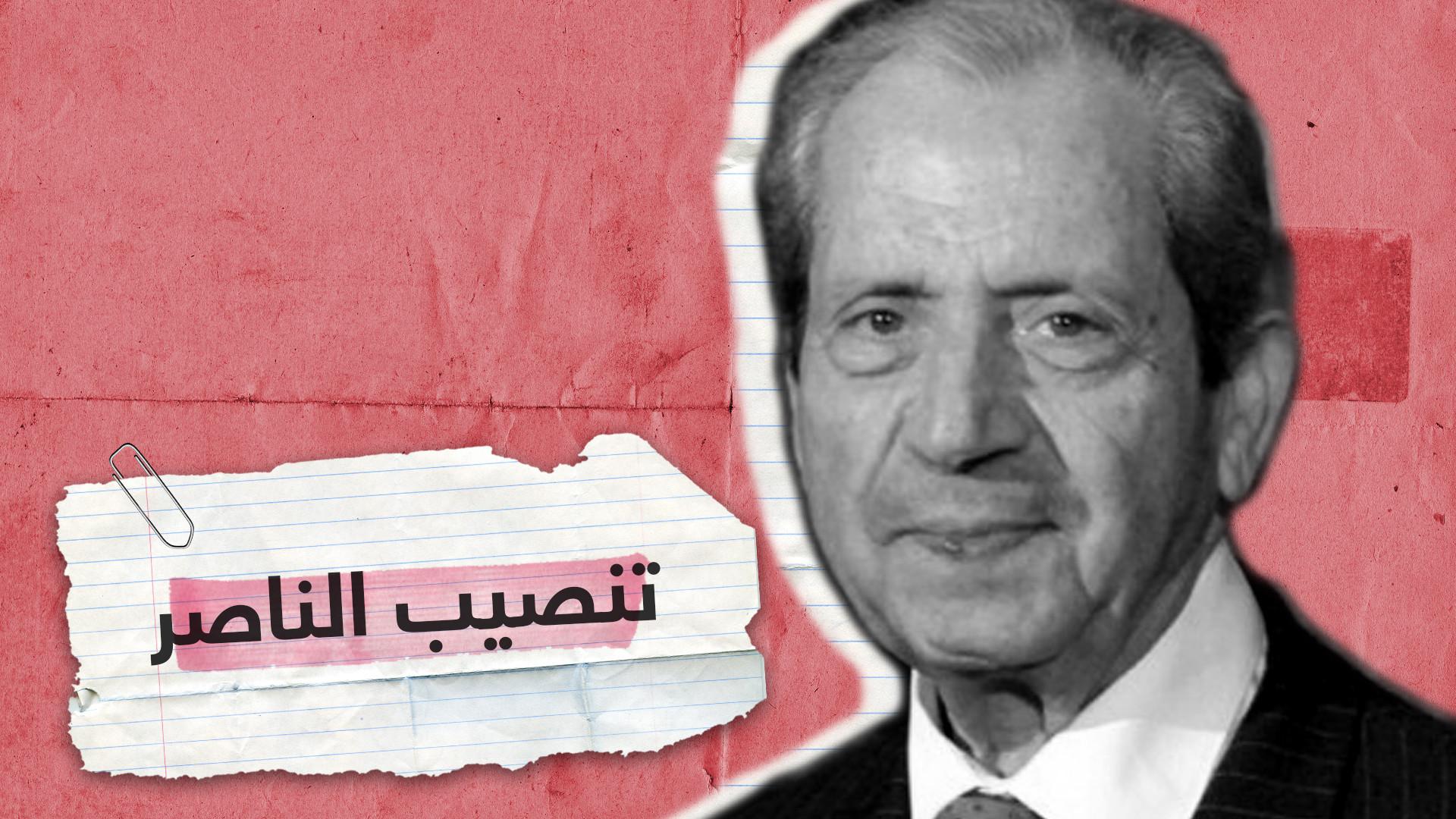لحظة تنصيب محمد الناصر رئيسا مؤقتا لتونس