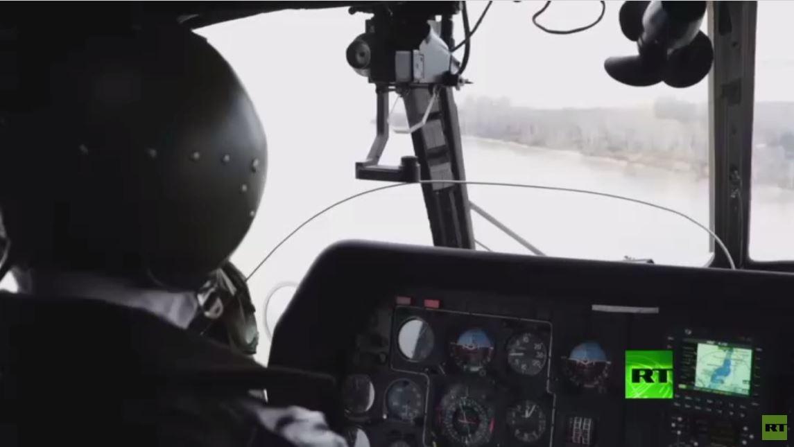 طائرات الجيش الروسي تشارك في إطفاء حرائق إقليم كراسنويارسك