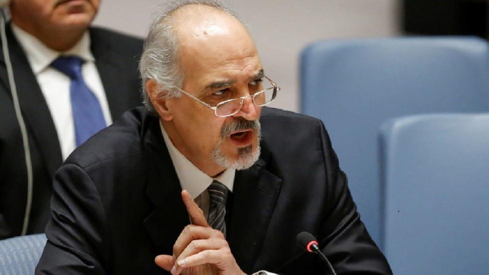 بشار الجعفري، مندوب سوريا الدائم لدى الأمم المتحدة-أرشيف