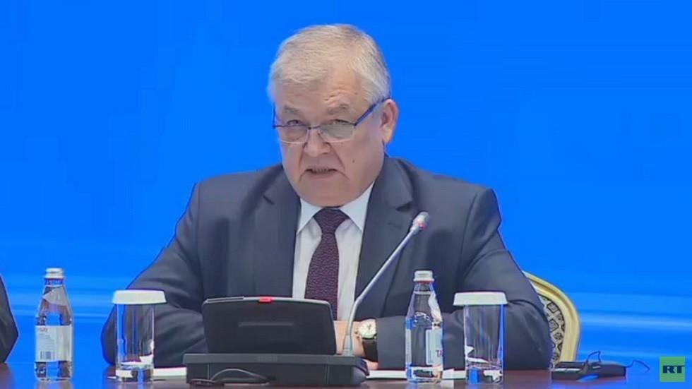 المبعوث الخاص للرئيس الروسي إلى سوريا ألكسندر لافرينتيف
