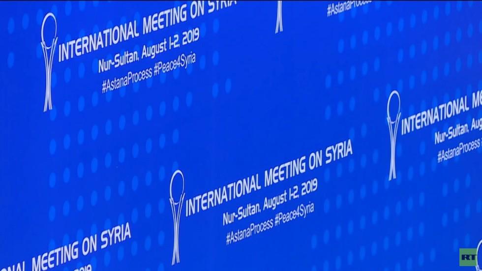 بيان أستانا: يجب تطبيق اتفاقات إدلب