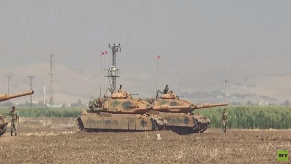 مزيد من القوات التركية قبالة شرق الفرات