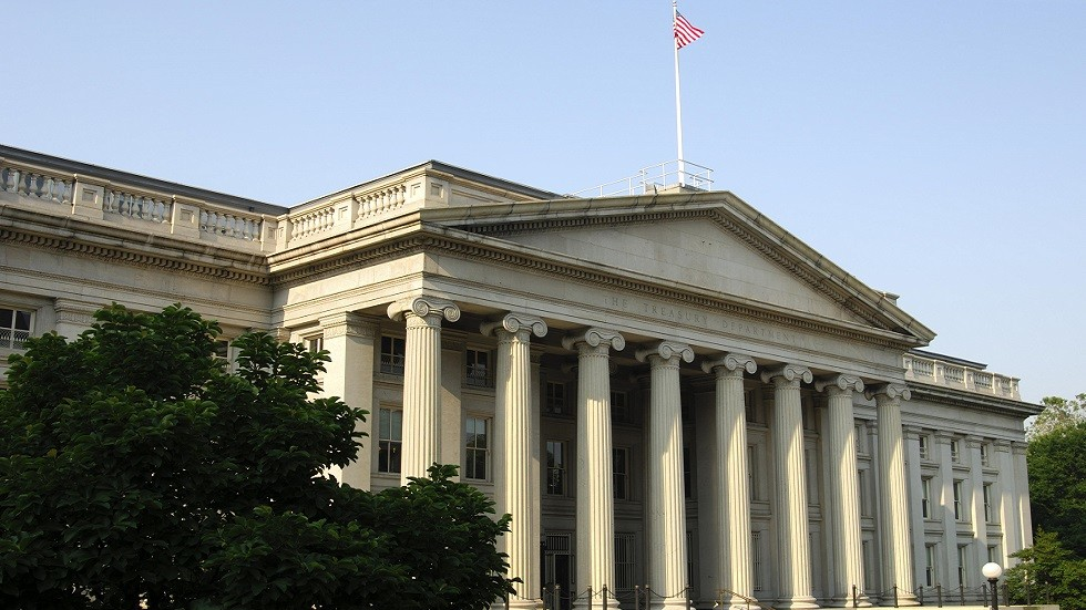 مبنى وزارة الخزانة الأمريكية (صورة أرشيفية)