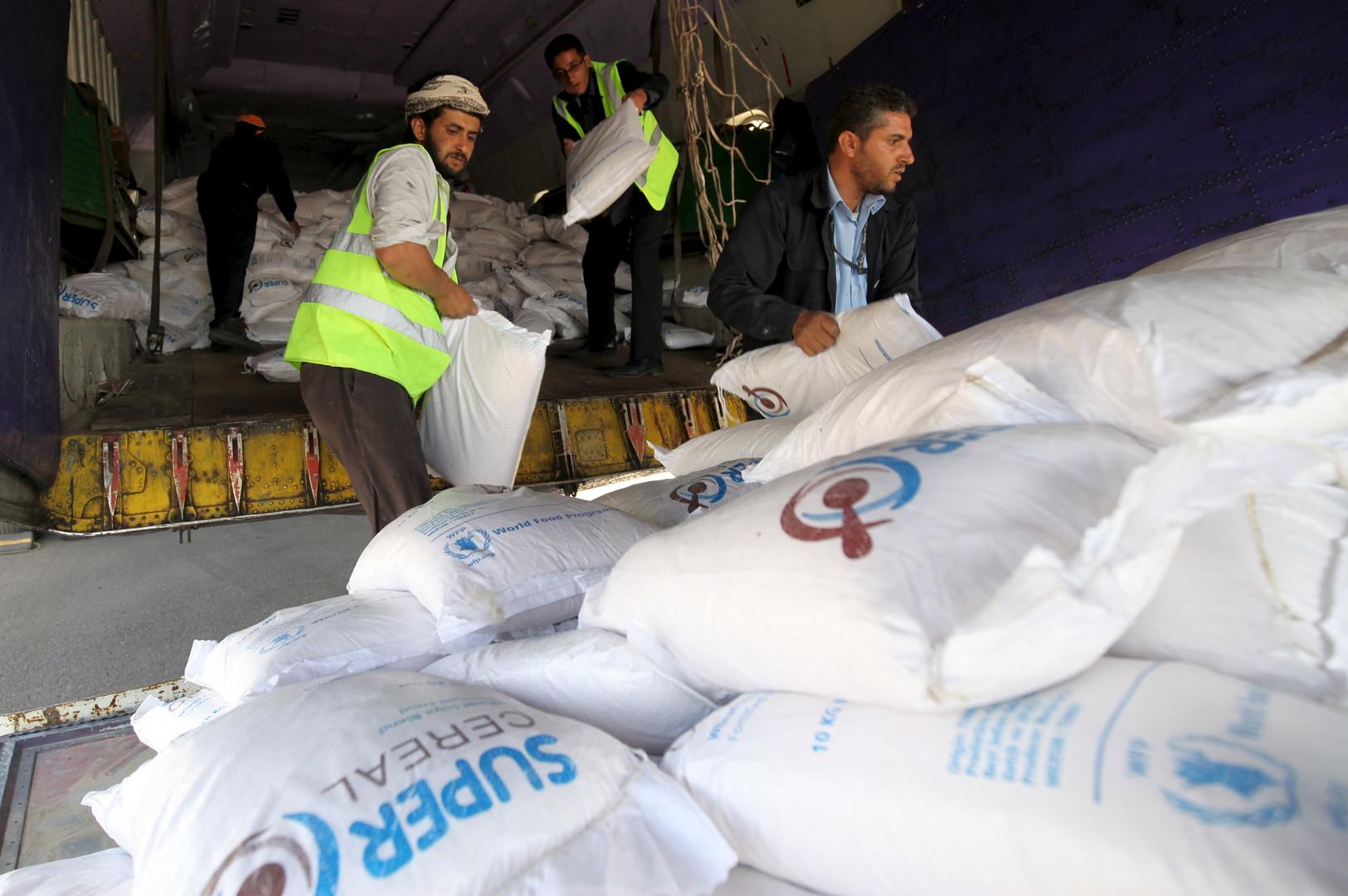 اتفاق بين برنامج الغذاء العالمي والحوثيين على استئناف توزيع المساعدات