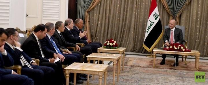 الرئيس العراقي يؤكد سعي بلاده لعلاقات مميزة مع الأشقاء
