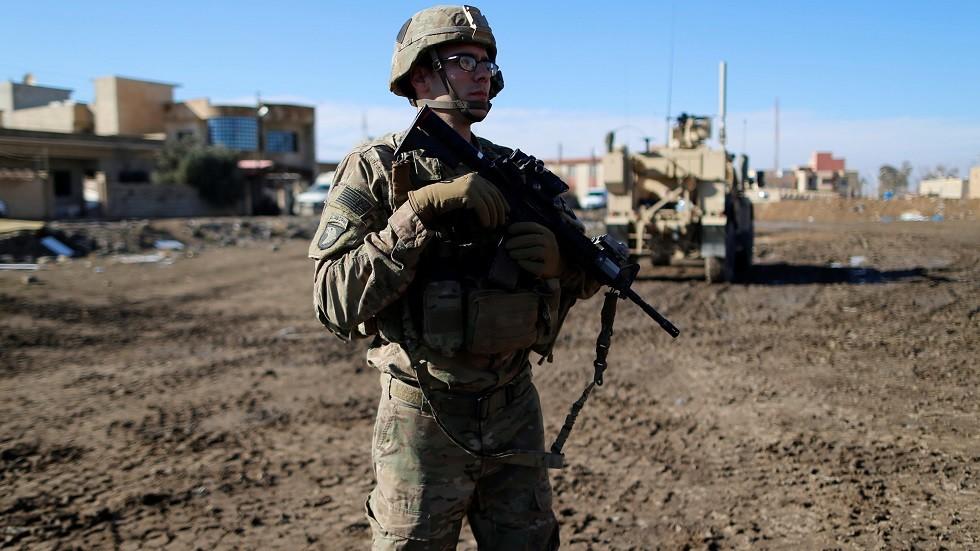 جندي أمريكي في الموصل شمالي العراق - أرشيف