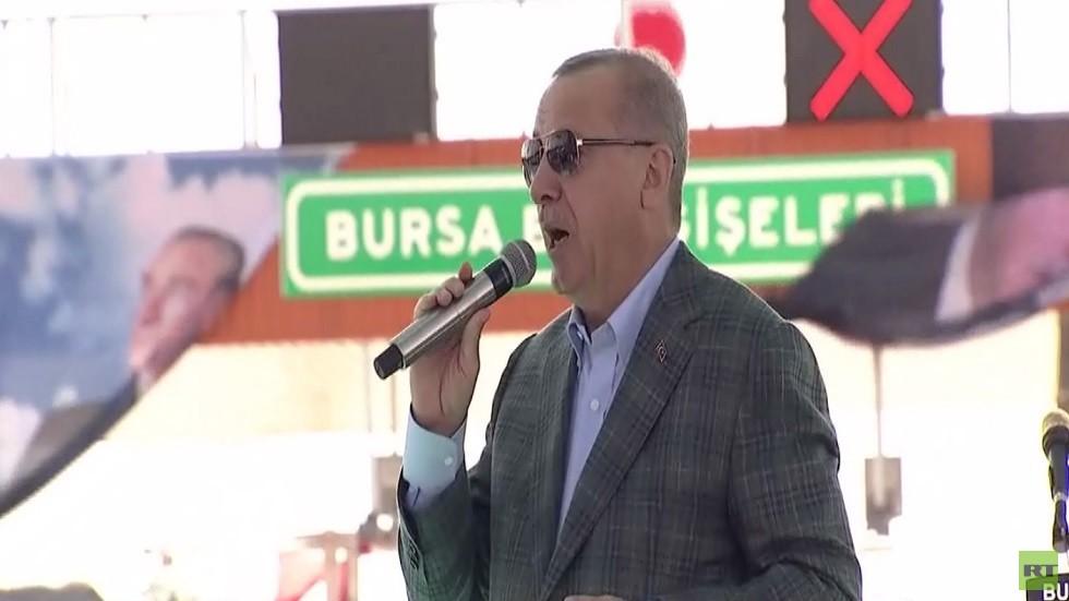 أردوغان: سندخل شرق الفرات شمال سوريا