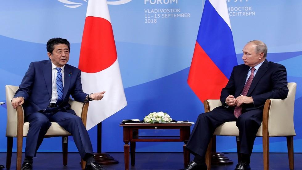 طوكيو: آبي يتطلع للقاء بوتين الشهرالمقبل