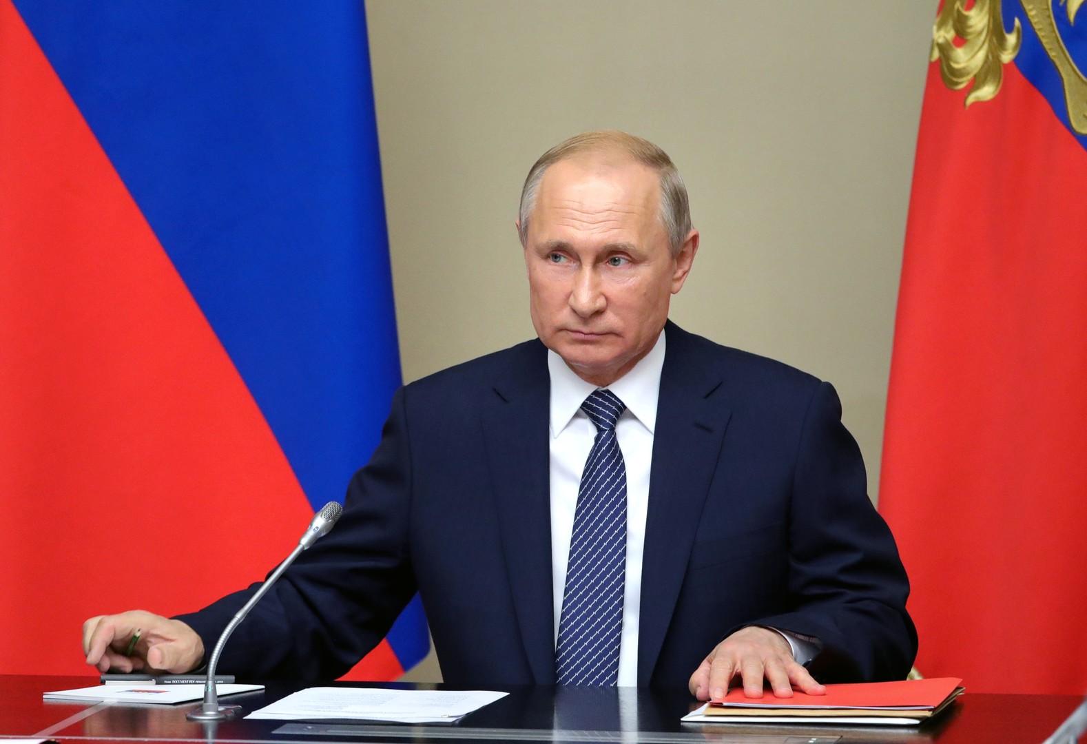بوتين يوعز لوزارة الدفاع الروسية بمراقبة تحركات البنتاغون والرد بالمثل على تطوير الصواريخ