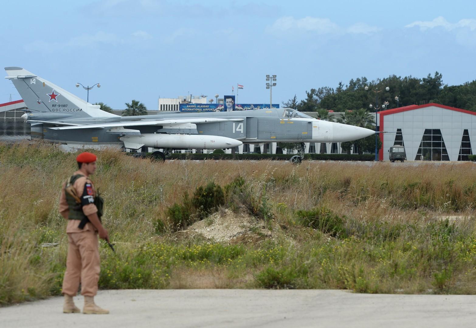الدفاع الروسية: المسلحون أطلقوا 3 قذائف صاروخية نحو قاعدة