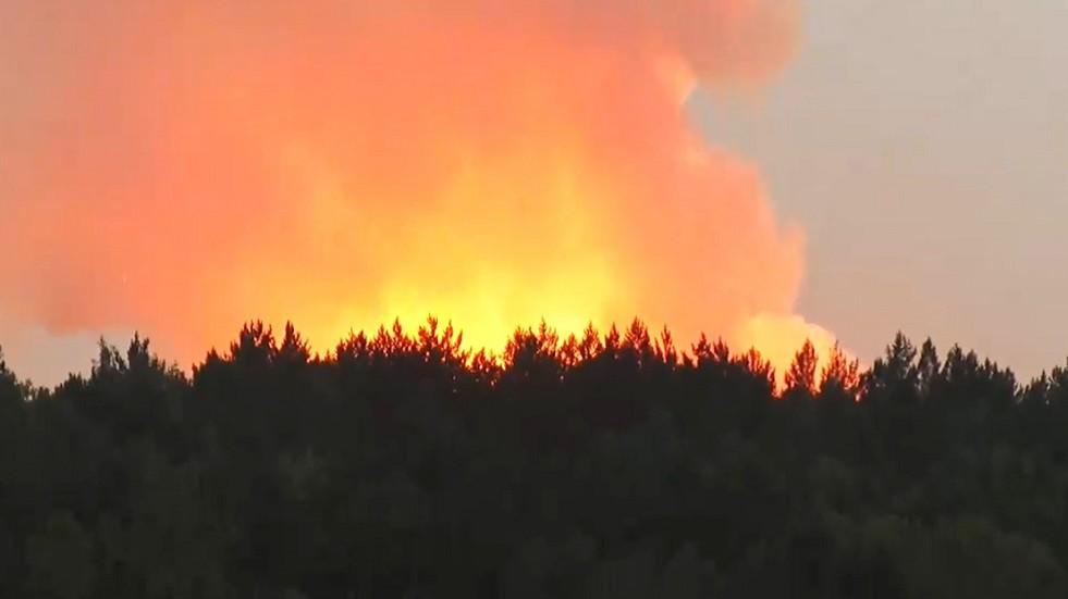 إعلان حال الطوارئ قرب كراسنويارسك الروسية بعد حريق ضخم في مستودع للذخيرة