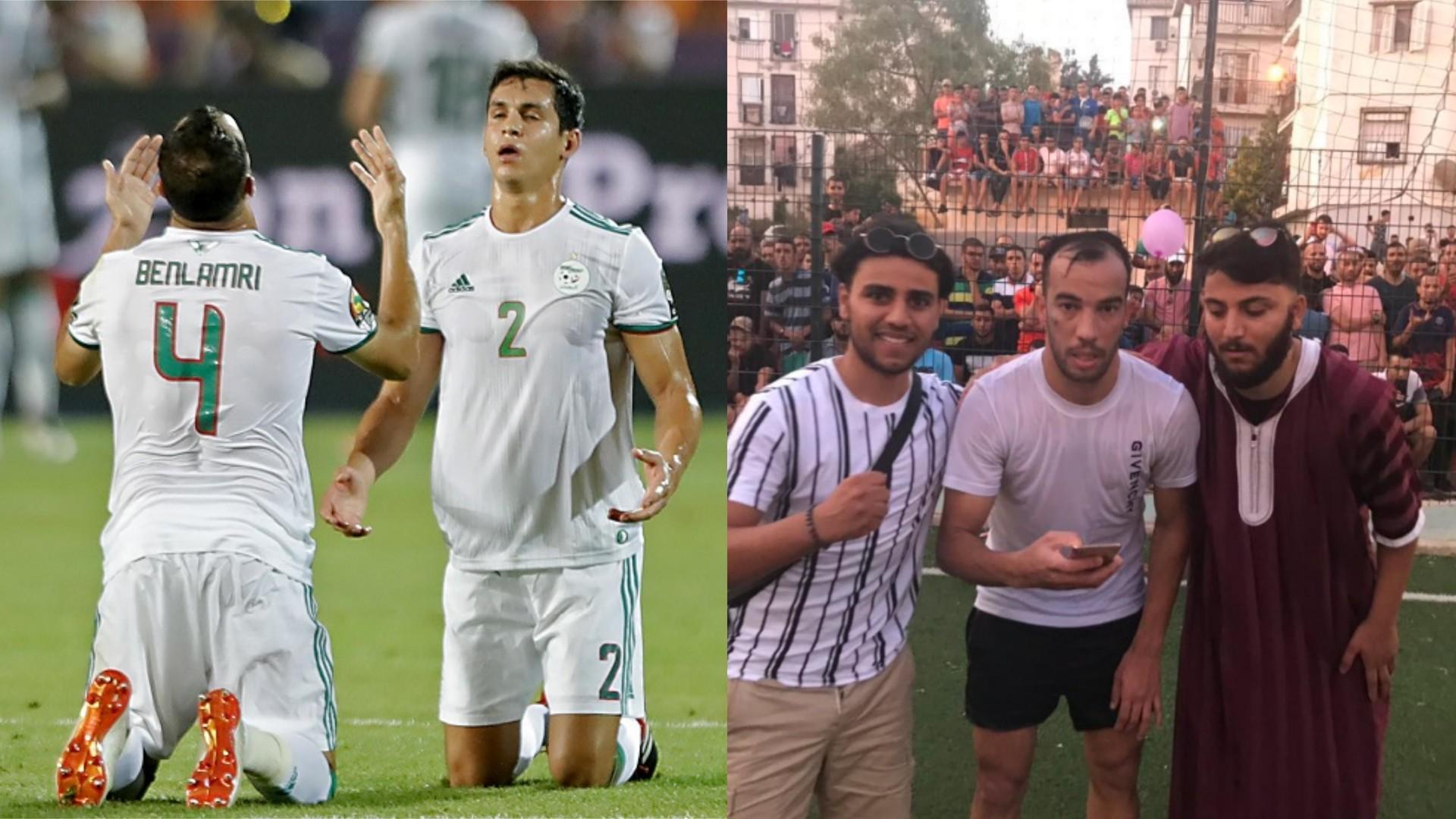 قبل عيد الأضحى.. مبادرة إنسانية من نجم المنتخب الجزائري