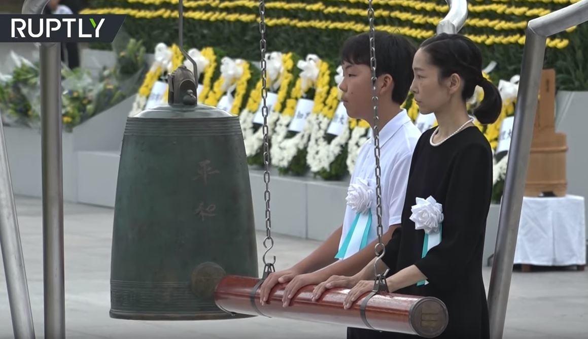 اليابان تدق الأجراس في ذكرى الهجوم النووي على هيروشيما