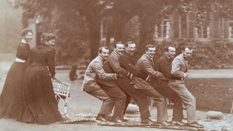صور طريفة لآخر القياصرة الروس