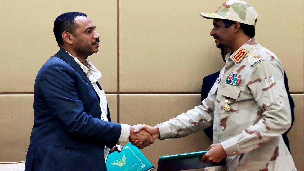 الاتفاق السياسي بين المجلس الانتقالي والمعارضة في السودان