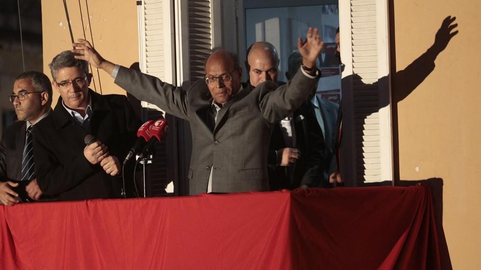 الرئيس التونسي السابق المنصف المرزوقي - أرشيف