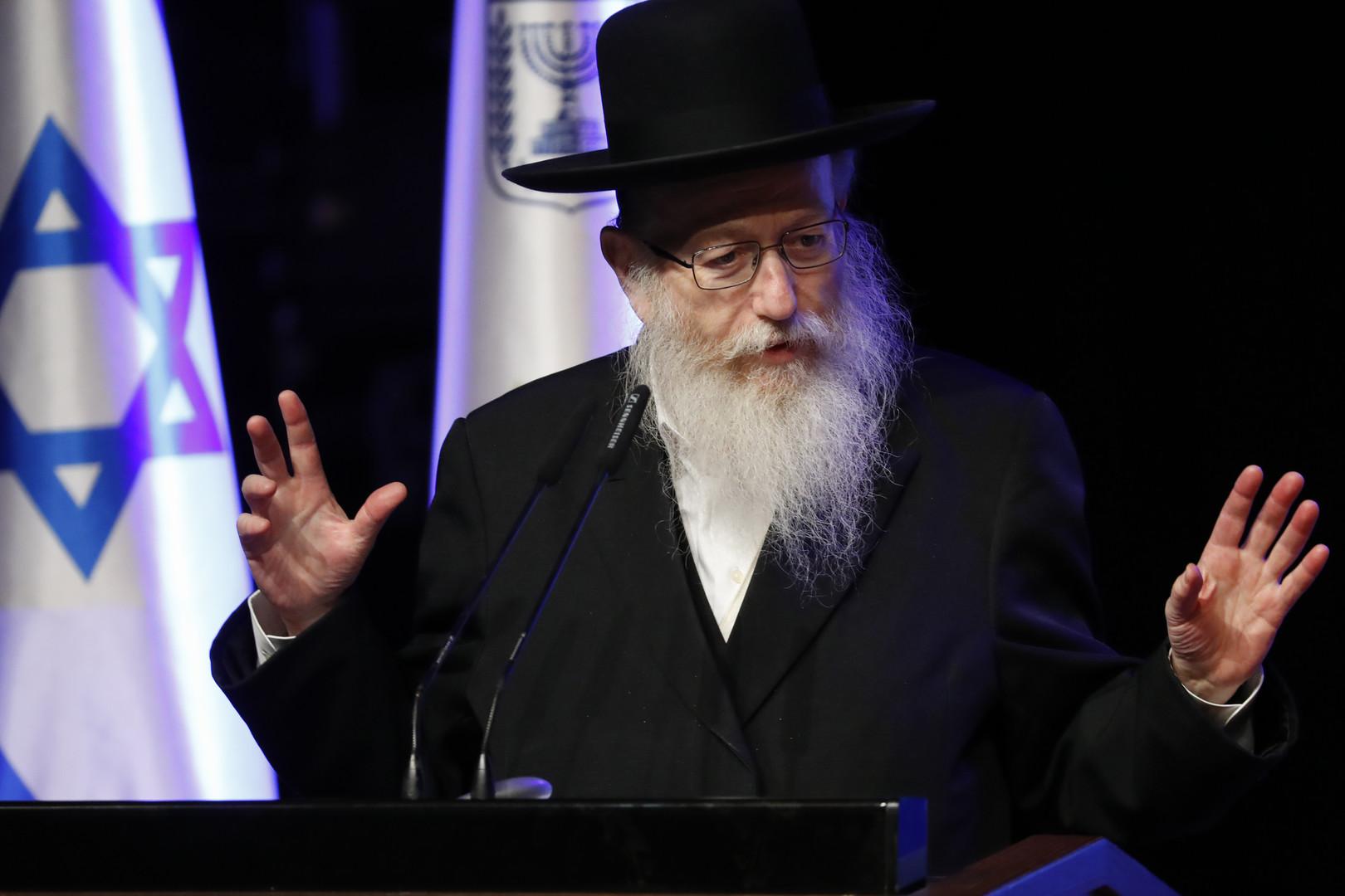 نائب وزير الصحة الإسرائيلي يعقوب ليتزمان