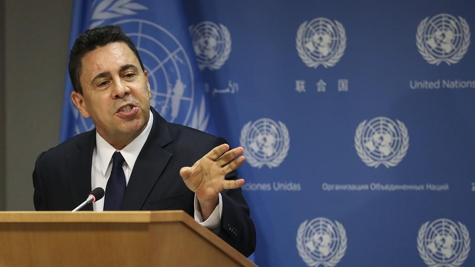 مندوب فنزويلا الدائم لدى الأمم المتحدة صاموئيل مونكادا