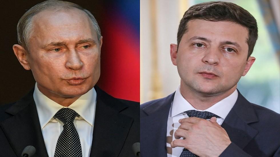 زيلينسكي يهاتف بوتين في شأن عاجل