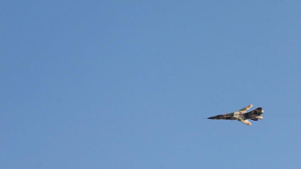 مهبط الكلية الجوية في مصراتة تحت القصف مجددا!