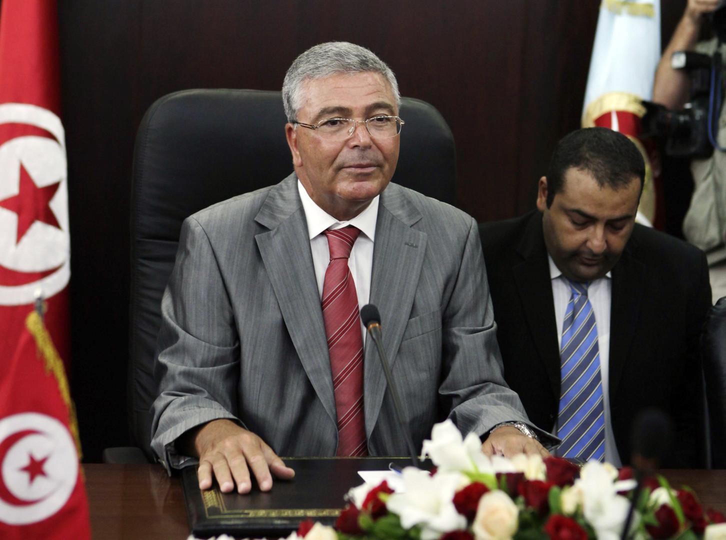 وزير الدفاع التونسي عبد الكريم الزبيدي يعلن ترشحه للرئاسة