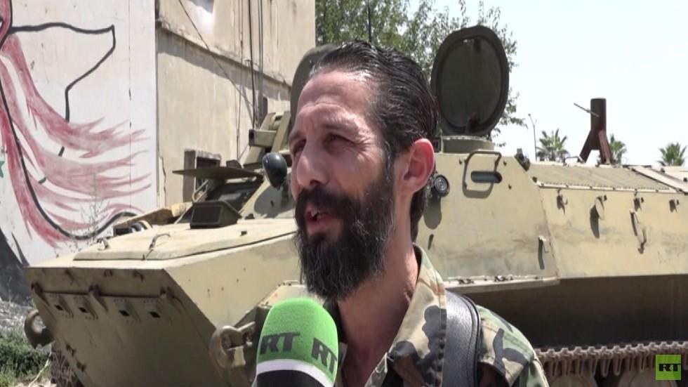 الجيش السوري يصد هجوما لمسلحين بريف حماة
