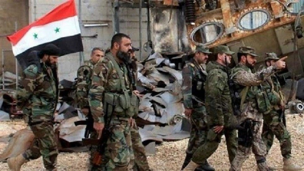 الجيش السوري يستعيد السيطرة على بلدتي