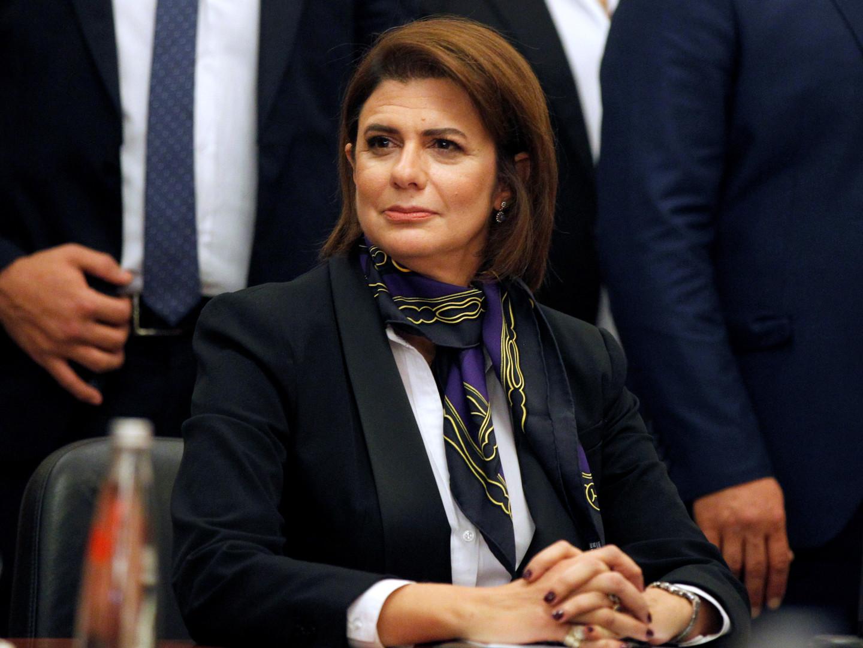 وزيرة الداخلية اللبنانية ريا الحسن- أرشيف