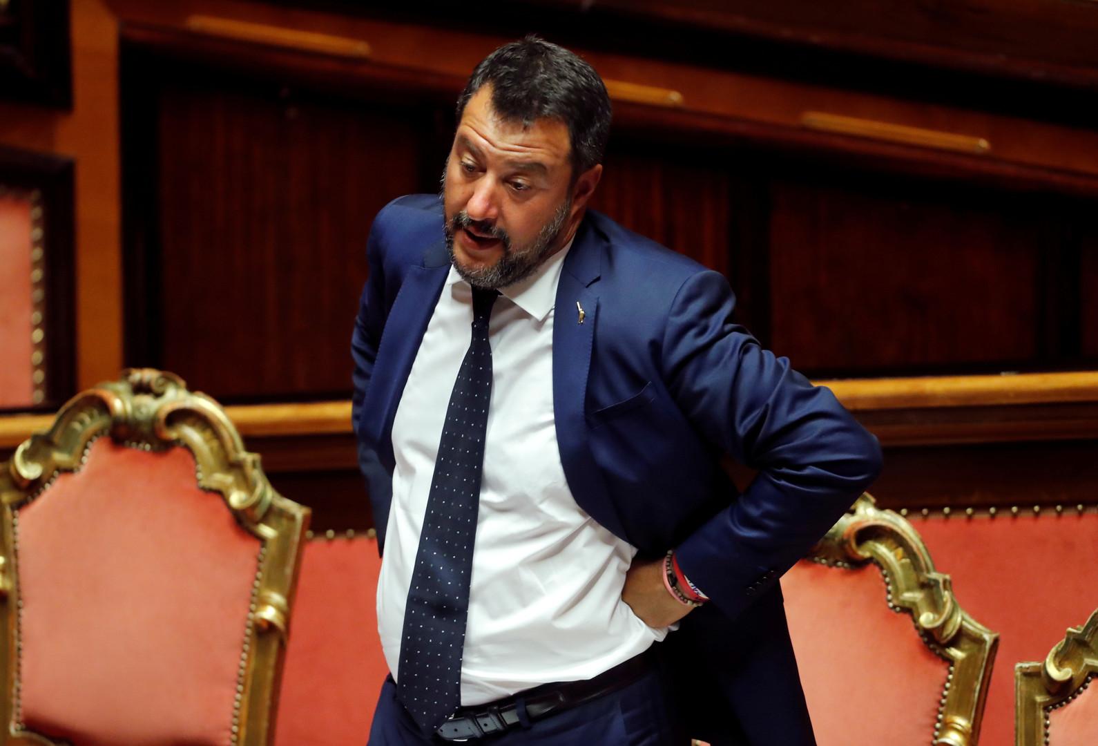 نائب رئيس الوزراء الإيطالي يعلن