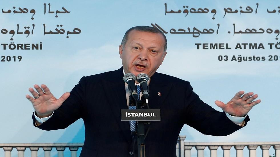 الرئيس التركي رجب طيب أردوغان صورة من الأرشيف