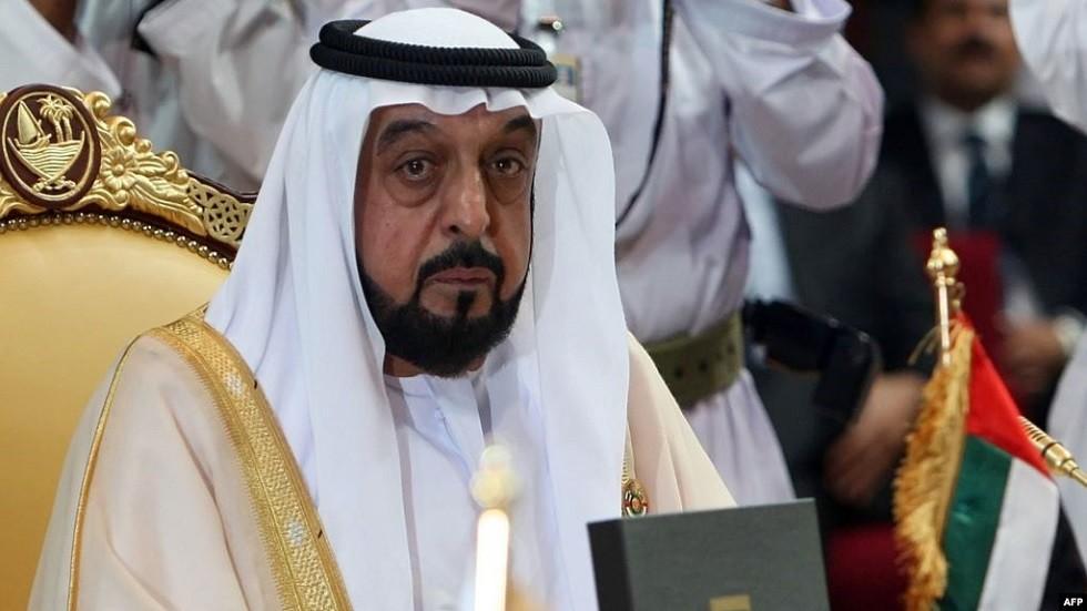 خليفة بن زايد آل نهيان رئيس دولة الإمارات