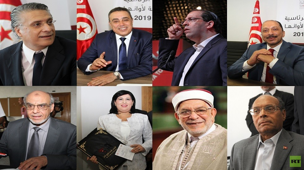 شخصيات تونسية مترشحة للانتخابات الرئاسية
