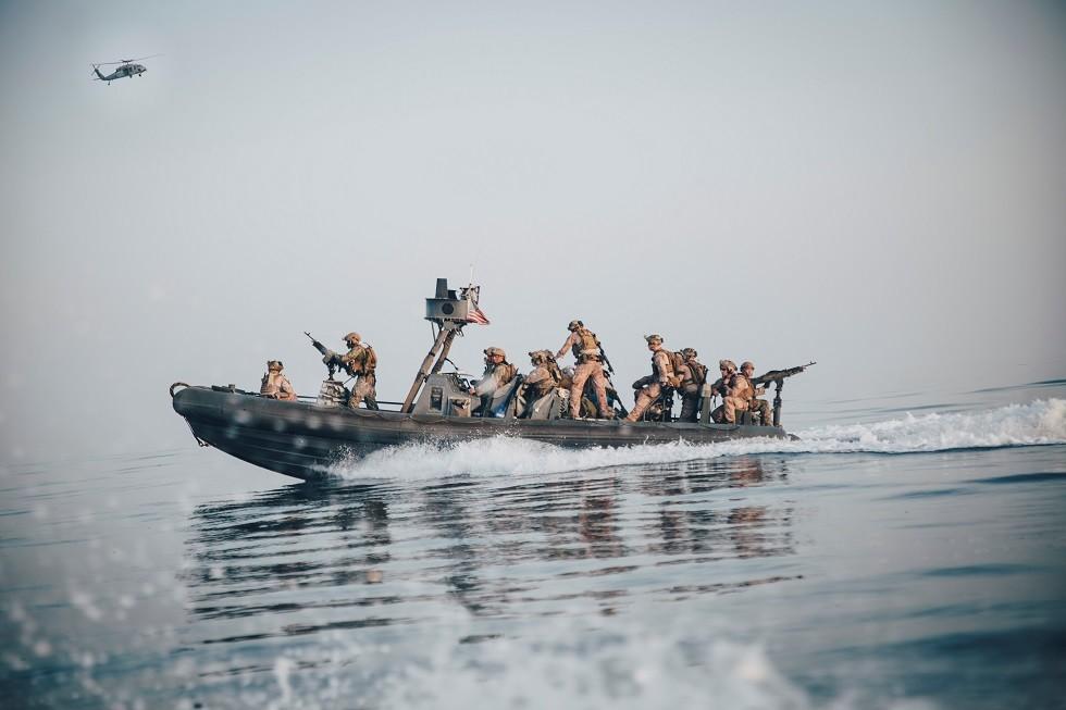 قوات المارينز الأمريكية في الخليج